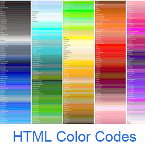 html color codes and names - Picture Color