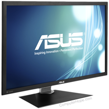 Computer monitor and output device