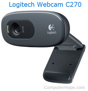 Computer webcam hardware example