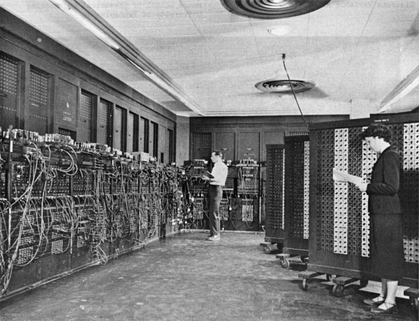ENIAC (Electronic Numerical Integrator and Calculator) picture