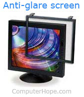 3M computer anti-glare screen