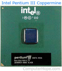 Intel Pentium III coppermine