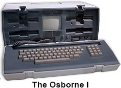 The Osborne I computer.