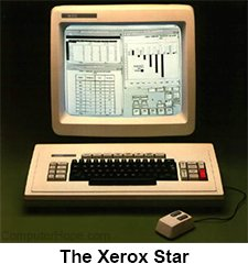 Photo: The Xerox Star workstation.