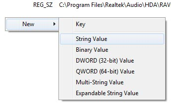 To solve the problem, you need to edit the registry (regedit), go to