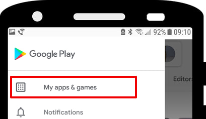 Play Store My Apps
