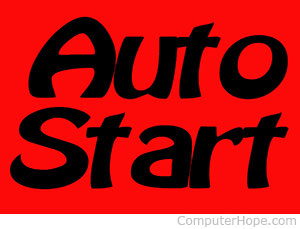 Auto start Windows programs
