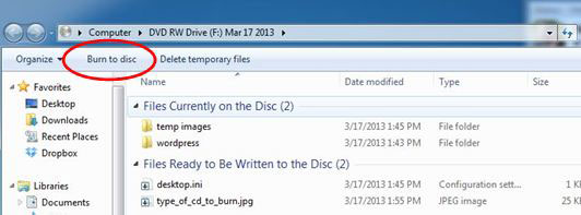 How To Add More Information To A CD-R Disc