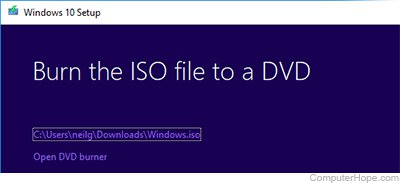 How to create a Windows 10 installation disk