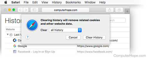 How do i remove search history from google toolbar