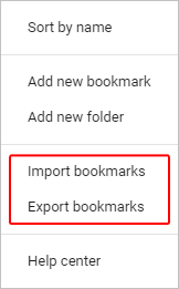 How to Import and Export Browser Bookmarks or Favorites