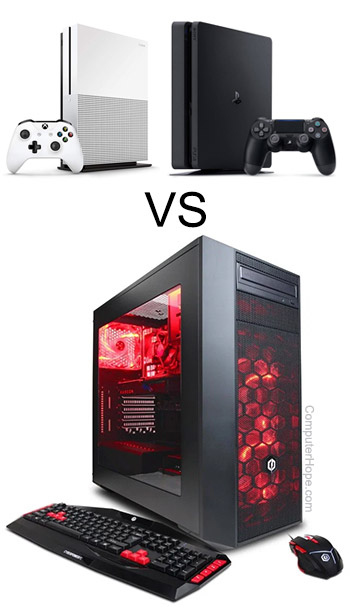Consoles vs. gaming PC