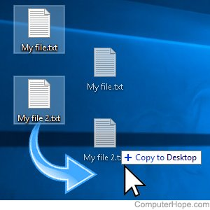 How to Copy Files