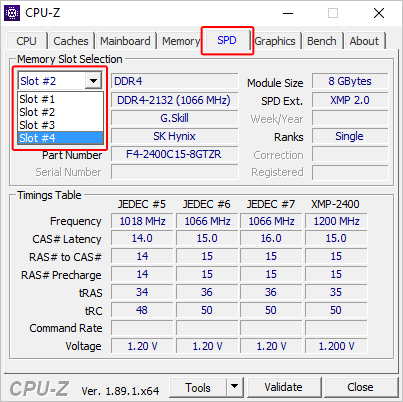 How to find how many memory slots are in a computer