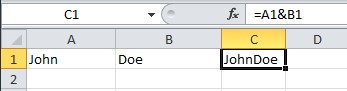How to merge and split cells in Excel and Calc picture