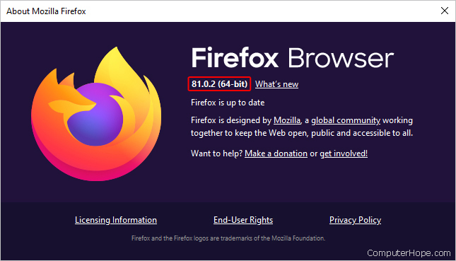 How to Find the Version of an Internet Browser picture