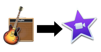 How to import GarageBand projects into iMovie