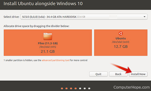 how to change partition size in ubuntu