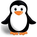 Tux the Penguin, Linux mascot.