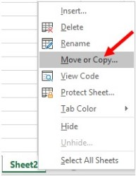 How to create, delete, rename, copy, and move a worksheet in