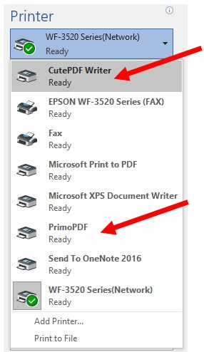 How to save a Microsoft Word document as a PDF file