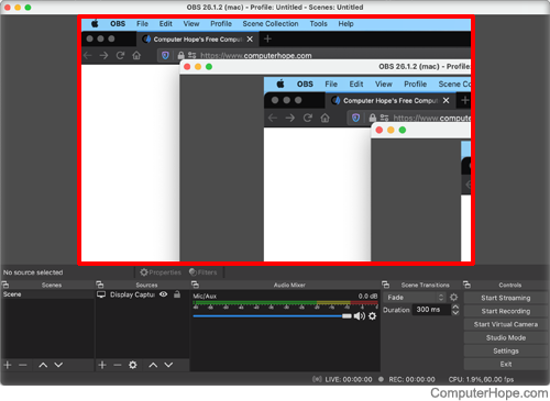 Recording with OBS