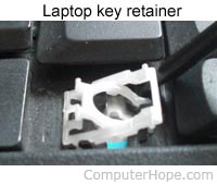 How Do I Remove A Laptop Keyboard Key Or Keycap