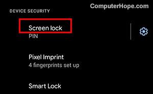 kunci layar android