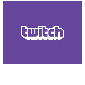 The Twitch logo.