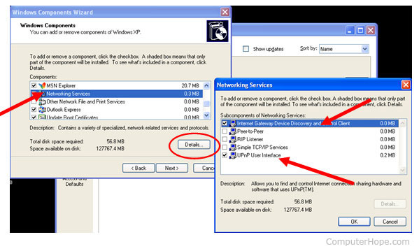 How to enable UPnP in Windows