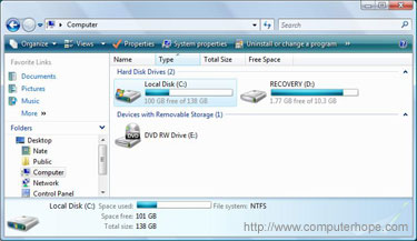 how to reformat my hard drive windows vista