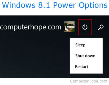 How to shut down a computer