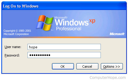 Lost or forgotten Windows password
