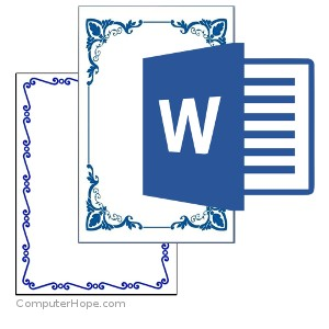 How to add, modify, or remove a page border in Microsoft Word