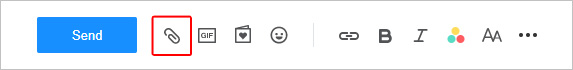 Yahoo! vassoio icona posta in basso.