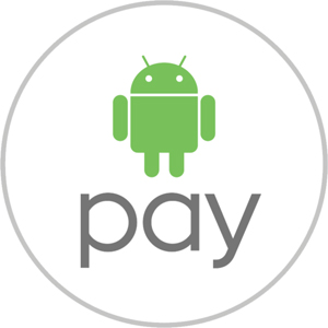 The Android Pay logo.