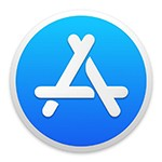 Graphic: MacOS App Store icon.