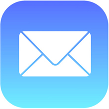 Apple Mail icon.