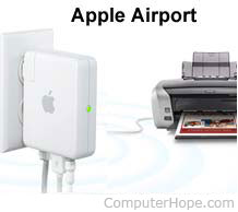 What is an Apple AirPort?