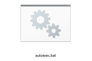 autoexec.bat and windows 7