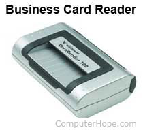 What is a business card reader related pages reheart Choice Image