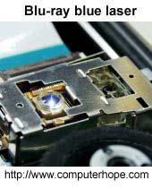 Blu-ray blue laser