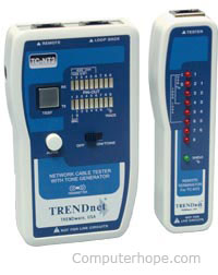 Cable tester from TRENDnet