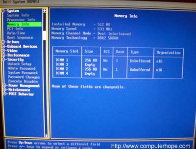 How to enter the BIOS or CMOS setup