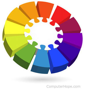 In Both Web Page Development And Areas Of Graphic Design Color Scheme Is The Choice Colors Used On A Basic Could Be