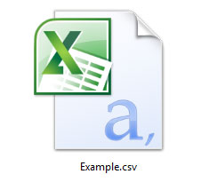 What is CSV (Comma-separated Values)? Example Of A Csv File Format Comma Delimited on