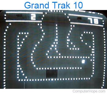 Grand Trak 10 car game
