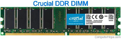 Computer DIMM or dual-inline memory module