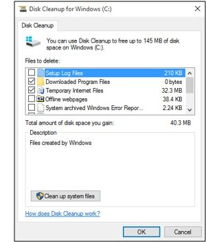 Disk cleanup picture
