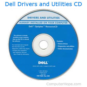 Dell drivers and utilities CD